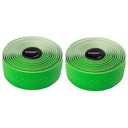 Fita de Guidão TSW Microfibra Verde