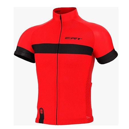 Camisa ERT Nova Tour Stripe Vermelho