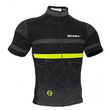 Camisa ERT Nova Tour Conect Preto/Amarelo