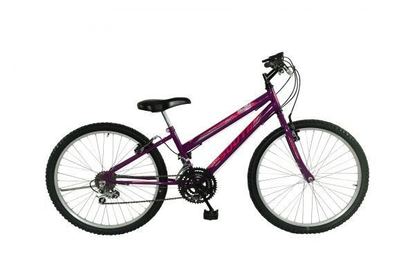 Bicicleta Aro 24 South Bike 18V Violeta Feminina