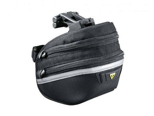 Bolsa de Selim para Bicicleta Topeak Wedge Pack II Média Preta