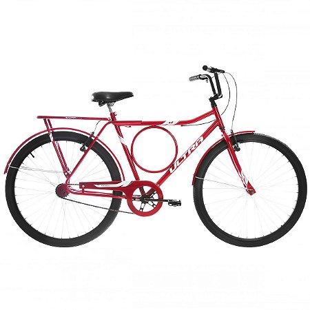 Bicicleta Aro 26 Ultra Barra Stronger Vermelha