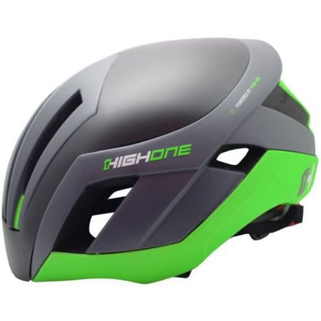 Capacete High One Pro Space Cinza/Verde