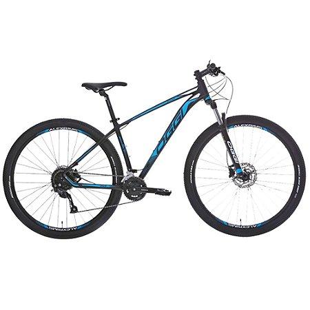Bicicleta Aro 29 OGGI Big Wheel 7.0 18V Preto/Azul Lançamento 2020