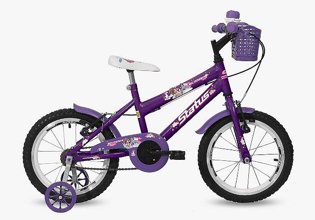 Bicicleta Aro 16 Status Violeta Aro Aero