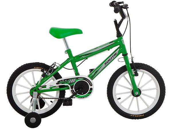 Bicicleta Aro 16 South Bike Ferinha Verde