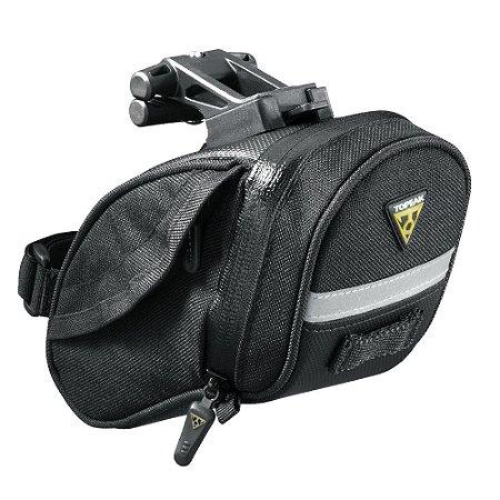 Bolsa de Selim para Bicicleta Topeak Aero Wedge Pack Clique Rápido M