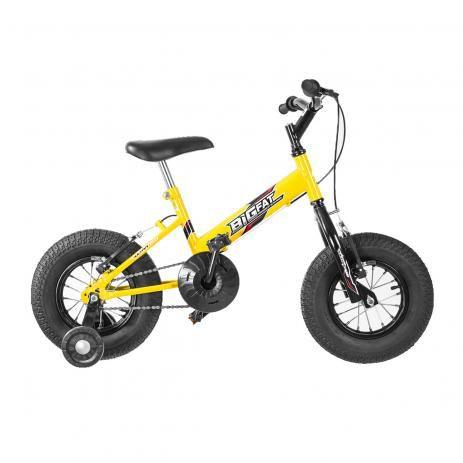 Bicicleta Aro 16 Ultra Bikes Big Fat Amarelo