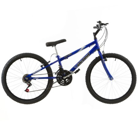 Bicicleta Aro 24 Ultra Technology 18V Azul Fosco