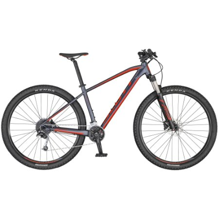 Bicicleta Aro 29 Scott Aspect 940 18V Cinza/Vermelho Lançamento 2020