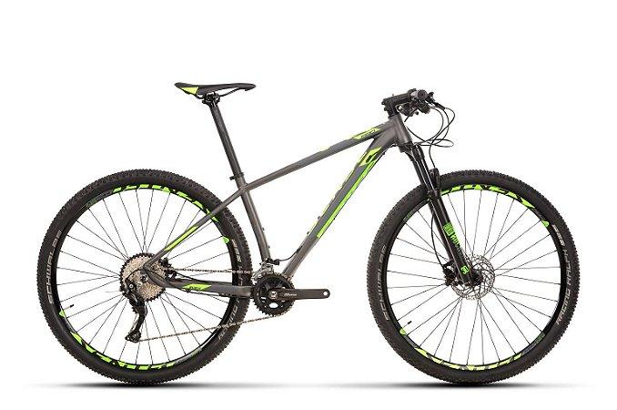 Bicicleta Aro 29 Sense Impact Pro 20V Chumbo/Verde Lançamento 2020