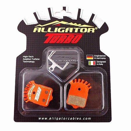 Pastilha de Freio Alligator Turbo Semi Metalica