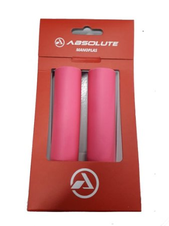 Manopla Absolute Silicone Rosa