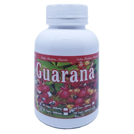Guarana 120 Cápsulas