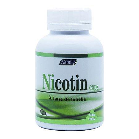 Nicotin - 120 Cápsulas