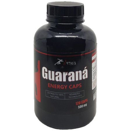 Guaraná Energy Caps 500mg -120 cápsulas