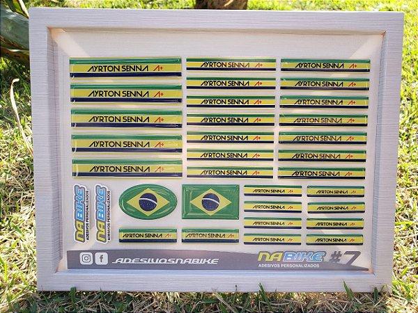 Cartela #7 - Ayrton Senna