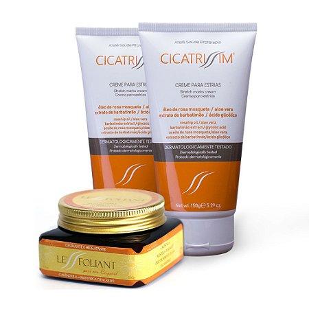 CicatriSSim 2un + 1un Le'SSfoliant