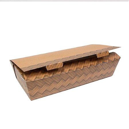 Caixa box antivazamento To Go grande- biodegradável - 10 unidades