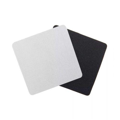 Porta Copo neoprene em branco quadrado - 100 unidades