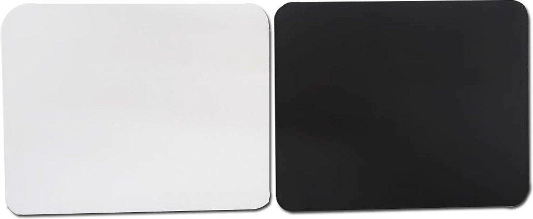 Mouse pad branco para sublimação retangular - 100 unidades
