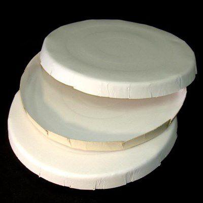 Caixa de Pizza ou salgado 25 cm cor creme - 25 unidades