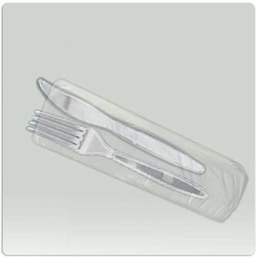 Saco plastico para talher ou geladinho - 1000 unidades