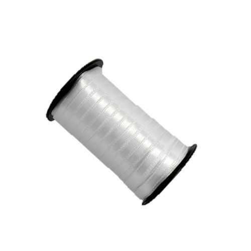 Fita de cetim liso branco 3,5 mm x 100 m com 01 unidades