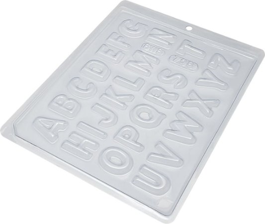 Forma alfabeto pequeno - 708 - 08 unidades
