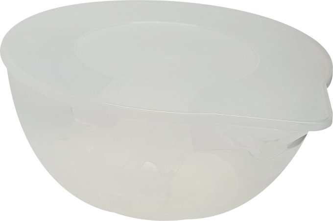 Derretedeira para chocolate com espatula cor cristal Ref. 9521