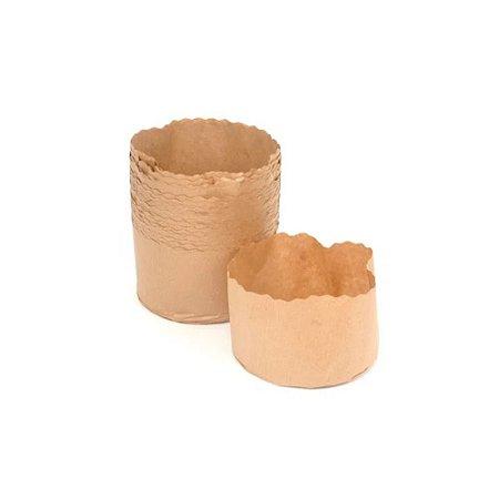 forma forneavel para panetone 100 gramas - 100 unidades