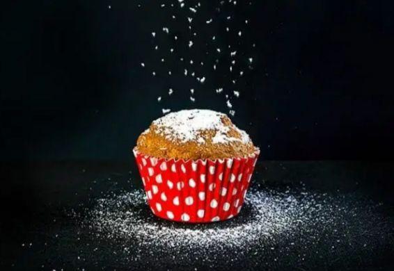 Forminha de Cup Cake forneavel - vermelho  - 12 unidades