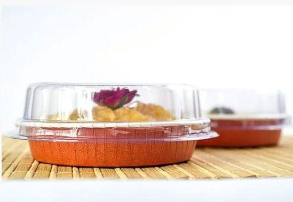 Forma italiana redonda para quiche ou tortas optima 158 c/ tampa - 05 unidades