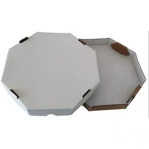 Caixa de pizza octagonal 35 cm - 10 unidades