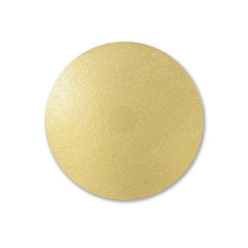 Cake Board Redondo Liso dourado 19 cm 05 unidades