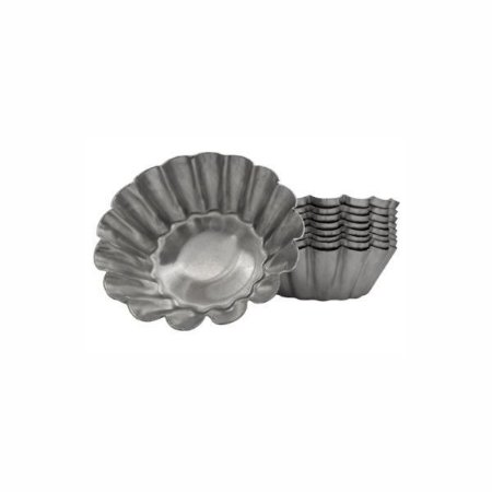 Forma de aluminio empada crespa N.1 - 12 unidades Cod. 9283
