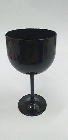 Taça gin preto 580 ml - 5 unidades
