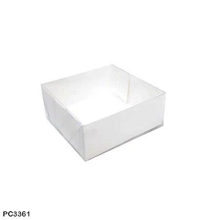 Caixa quadrada 10x10x4 cm  - 10 unidades