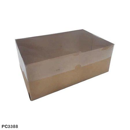 Caixa para bolo 25x25x10 - 5 unidades