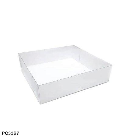 caixa para doces 16x16x4 cm - 10 unidades