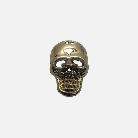 Aplicação metálica Skull 12-251
