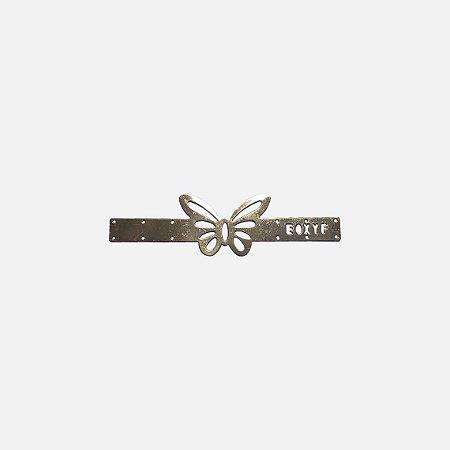 Aplicação metálica butterfly com barras 12-255