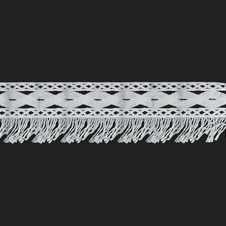 Renda Branca Poliéster F331 6,5cm. (Jarda)