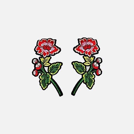 Aplicação Rose Flowers G143 (O par)