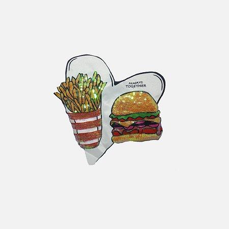 Aplicação Hamburguer & Fries Always Together (G449)