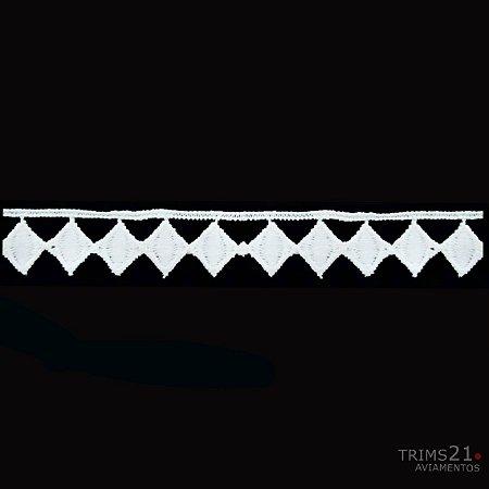 Renda Branca Poliéster T4-181- E