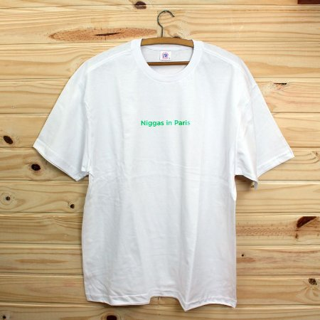 Camiseta Revista Rap Clothing - Niggas in Paris Drop 2 Verde