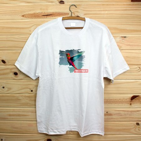 Camiseta Revista Rap Clothing - Trezeback Birdie