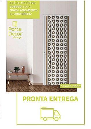 Porta Sanfonada Cobogó 1,08 x 2,10 ARAFORROS