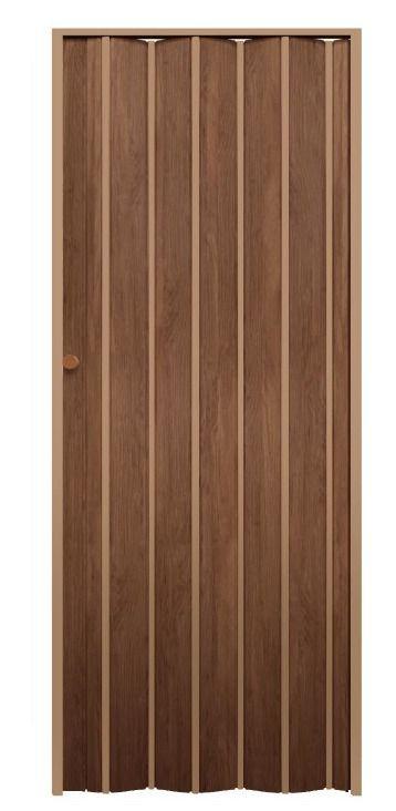 Porta Sanfonada Castanho  0,60 x 2,10 ARAFORROS
